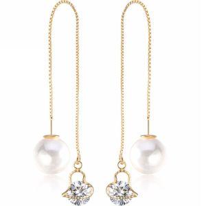 Náušnice Cute Pearl-Zlatá/Typ1 KP2477
