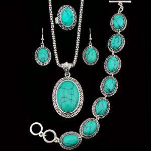 Set Turquoise Antique - Tyrkysová KP341