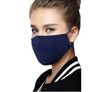Bavlnené Rúško s výmenným filtrom-Modrá KP6285