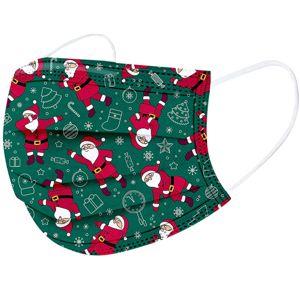 1x Vianočné jednorázové Rúško-Santa KP6723