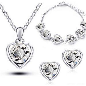 Set Love Heart - Kryštálová KP1256
