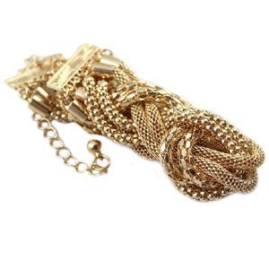 Náhrdelník Gold Twisted KP1468